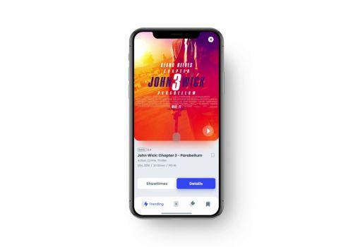 Cinema Tickets App Demo