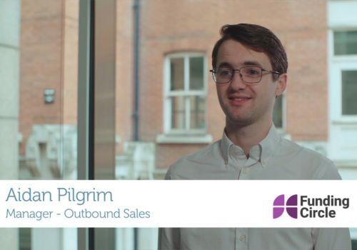 TTMC Client, Aidan Pilgrim, Funding Circle
