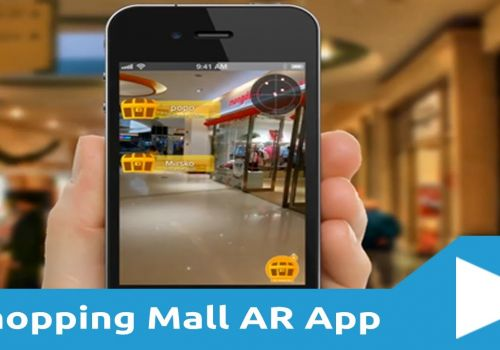Shopping Mall Augmented Reality App - Treasure Hunt