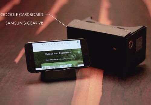 Country Casual Teak VR innovation by Scandiweb