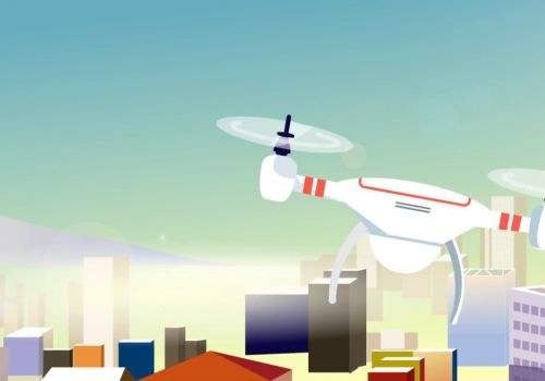 The power of Drones   Explainer video   Motion Graphics Video