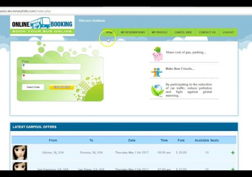 Online Travel Management - Video Tour - Binaryfolks