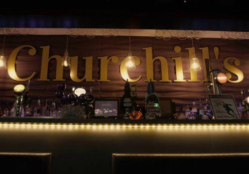Churchill's Bar Promo