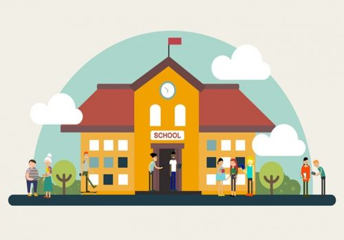 Microsoft School in the Cloud | Project representation by Craftoon in a 2D animation explainer