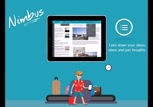 Nimbus Note for iPad