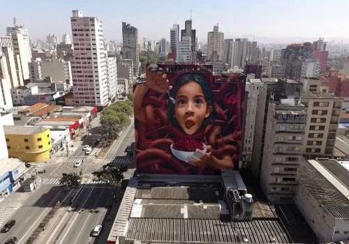 BiP Graffiti | Drone