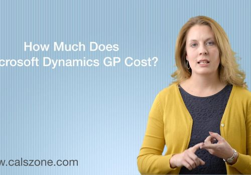 How Much Does Microsoft Dynamics GP Cost?