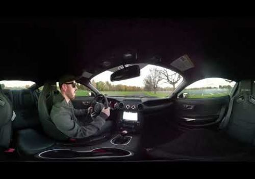 360° Test Drive of the Ford Mustang Shelby GT350
