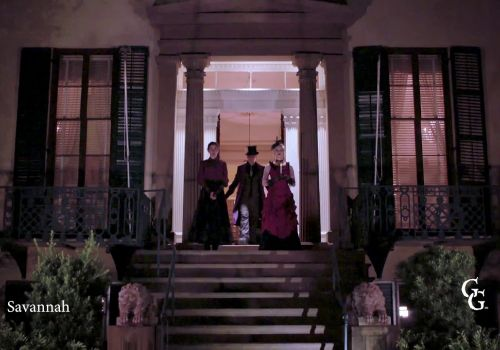 #1 Haunted Savannah Ghost Tours | Frightseeing with Ghosts & Gravestones