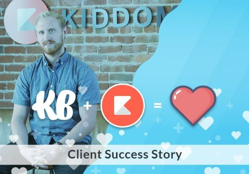 KlientBoost Review - Kiddom Client Success Story