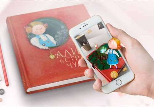 Wonderland  AR - Alice's Adventures in Wonderland - Book with Augmented Reality