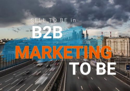 MARKETING TO BE para empresas B2B