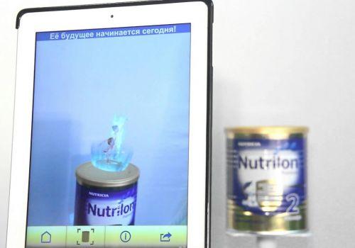 Мобильное приложение с дополненной реальностью «Nutrilon-Прогресс»
