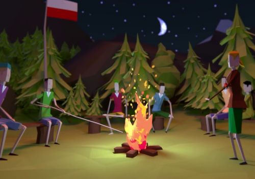 Forest schools project by Polish Ministry of Environment | Low Poly animation by Craftoon