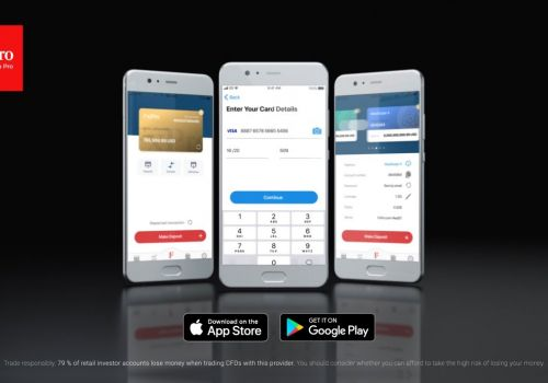 FxPro Direct app - manage your FxPro Wallet on the go