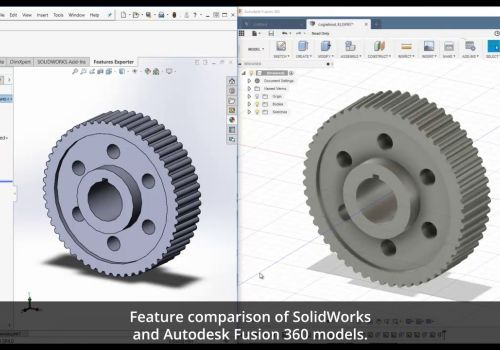 3DFeaturesTranslator™ from SOLIDWORKS® to Fusion 360™