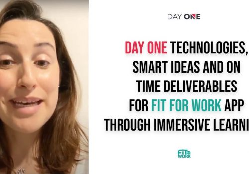 Client reviews on Day One Technologies great results with smart ideas and on-time product.