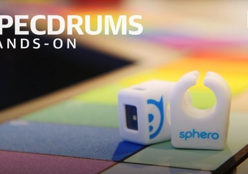 Specdrums Hands-On at CES 2019: All you need is your fingertips