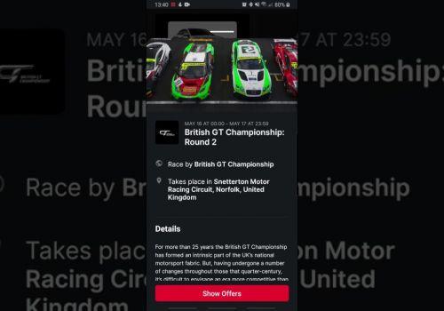 Race Scout mobile app