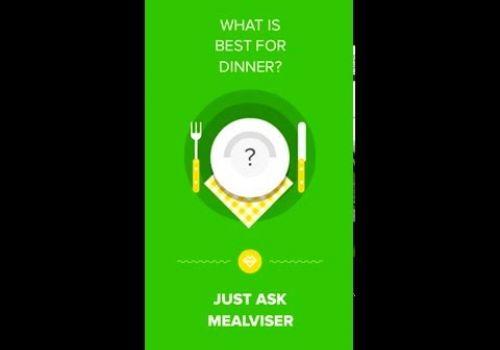Mealviser app