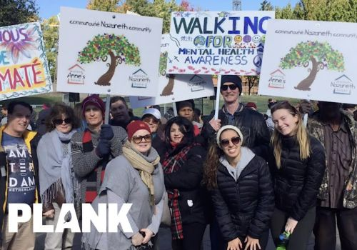 Welcome Nazareth Community: Plank Gives Back | Plank