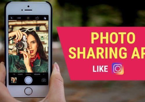 Photo sharing apps like Instagram