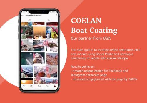 SMM для COELAN Boat Coating