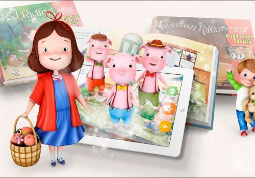 Innovative children's book enforced Augmented Reality