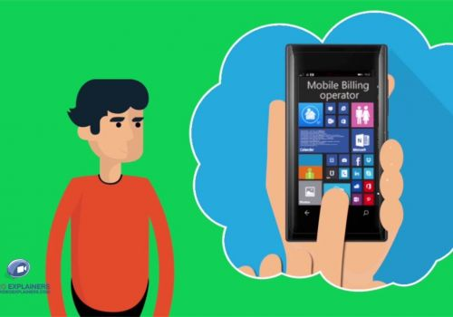 2D Cartoon Animation- Microsoft Mobile Billing System By Video Explainers