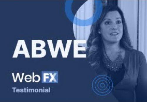 WebFX Testimonial | ABWE