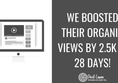 YouTube SEO Case Study | 2.5k Additional YouTube Organic Views | Pearl Lemon SEO Agency