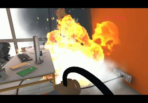 Virtual Reality Training for Fire Safety