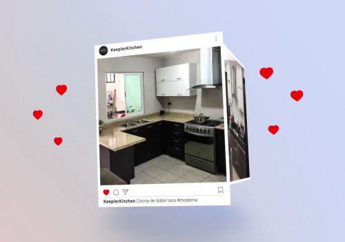 Siguenos en Instagram Keepler Kitchen & Closet