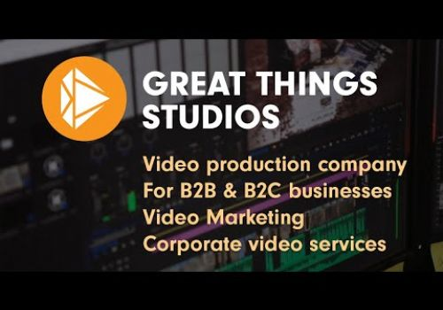 Video Marketing & Corporate video production services • Great Things Studios • Demo Reel • Montreal