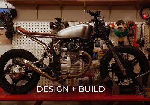Draw The Line: Motorcycle Design + Build