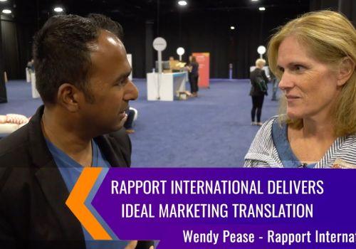 Rapport International Delivers Ideal Marketing Translation   INBOUND 2019