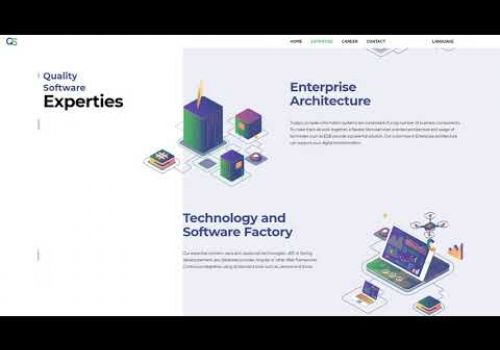Quality Software - IT Company Website Design and Development