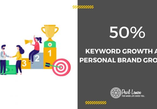 Personal Brand SEO | Organic And Keyword Growth 50% | Pearl Lemon SEO Case Study