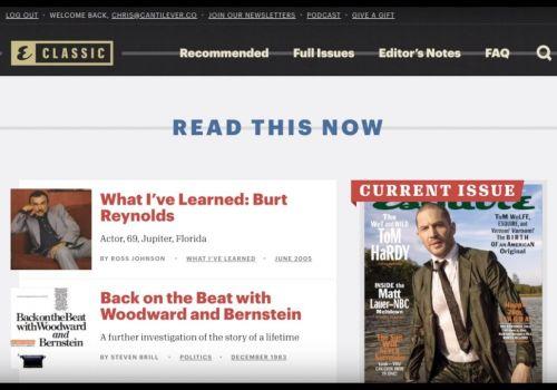 Esquire Classic Walkthrough