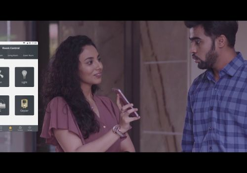 Zemote Smart Home TVC | Office Time Couple | Be Alive Media
