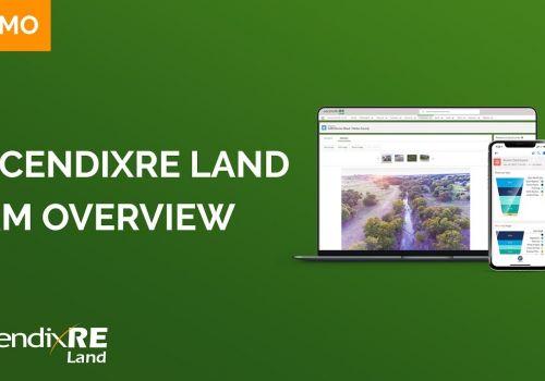 AscendixRE CRM Land Overview