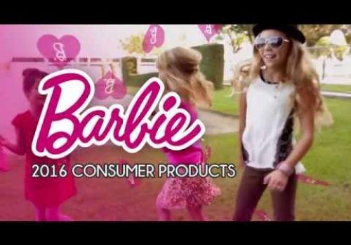 Barbie Sizzle Reel 2016 Line
