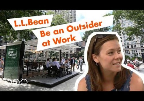 L.L.Bean 'Be an Outsider at Work' Brand Experience Pop-Up Event