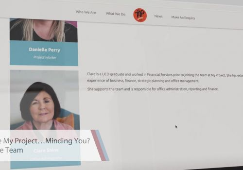 World Class Website Design | My Project...Minding You | Digital Sales