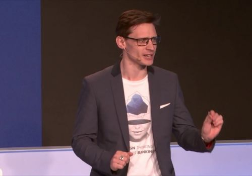UX Design Agency presents at Finovate Europe