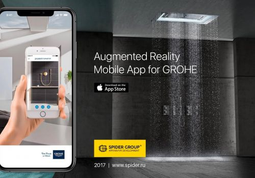 Augmented Reality Mobile App for GROHE
