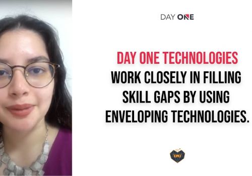 Client, Adila Sayyed talks about the caging technologies to fill skill gaps at Day One Technologies.