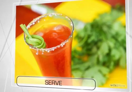 How to make a Bloody Mary cocktail. wikiHow video