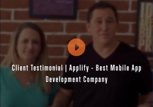 Client Testimonial | Applify - Best Mobile App Development Company