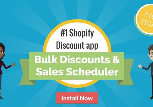Shopify Bulk Discounts & Sales Scheduler App by SpurIT